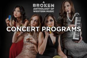 Breaking Winds Bassoon Quartet Concert Programs