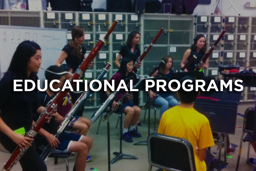 Educational Programs Breaking Winds Bassoon QUartet